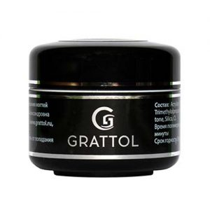 Прозрачный скульптурный гель-желе Grattol Jelly Clear Gel 50 мл - Арт. GGJC50