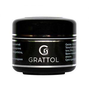 Прозрачный скульптурный гель со стекловолокном Grattol Fiber Gel 50 мл - Арт. GGFG50