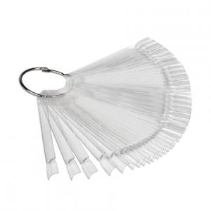Палитра веер на кольце Grattol (50 шт) - Арт. CHP2 Прозрачная