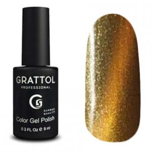 Гель-лак Grattol Magic - Арт. GTM014 Silver Gold