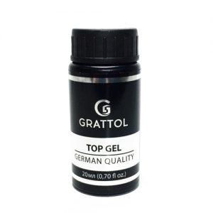 Топ без липкого слоя Grattol No Wipe Top Gel UV Filter 20 мл - Арт. GTNWU20