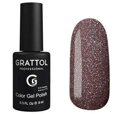 Гель-лак Grattol Luxery Stones - Арт. GTAT04 Agate 04