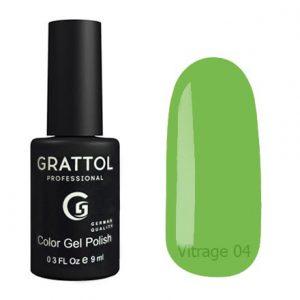 Гель-лак Grattol Color Gel Polish Vitrage 04 - Арт. GTVR04