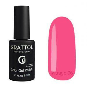 Гель-лак Grattol Color Gel Polish Vitrage 06 - Арт. GTVR06