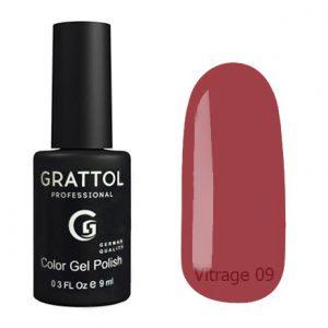 Гель-лак Grattol Color Gel Polish Vitrage 09 - Арт. GTVR09